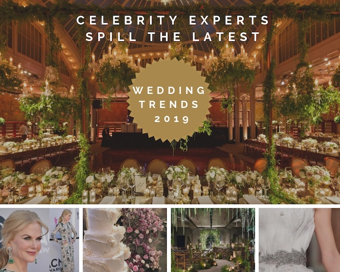 2019 Wedding Trends from Celebrity Experts on Kara's Party Ideas | KarasPartyIdeas.com (1)