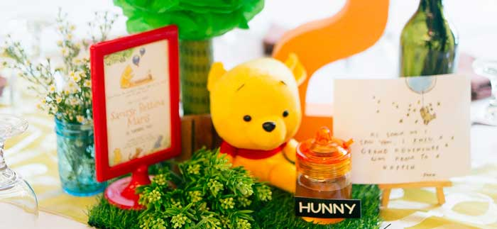 Winnie the Pooh Hundred Acre Wood Birthday Party on Kara's Party Ideas | KarasPartyIdeas.com (3)
