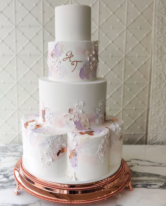 Wedding Cake from a 2019 Wedding Trends from Celebrity Experts on Kara's Party Ideas | KarasPartyIdeas.com (54)