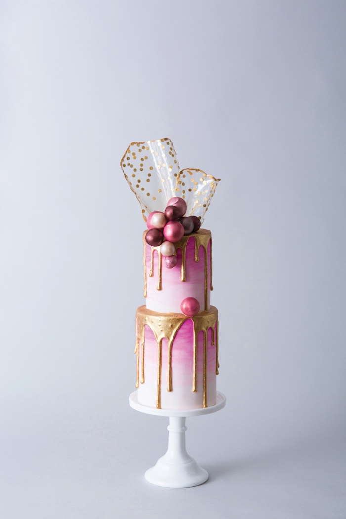 Wedding Cake from a 2019 Wedding Trends from Celebrity Experts on Kara's Party Ideas | KarasPartyIdeas.com (61)