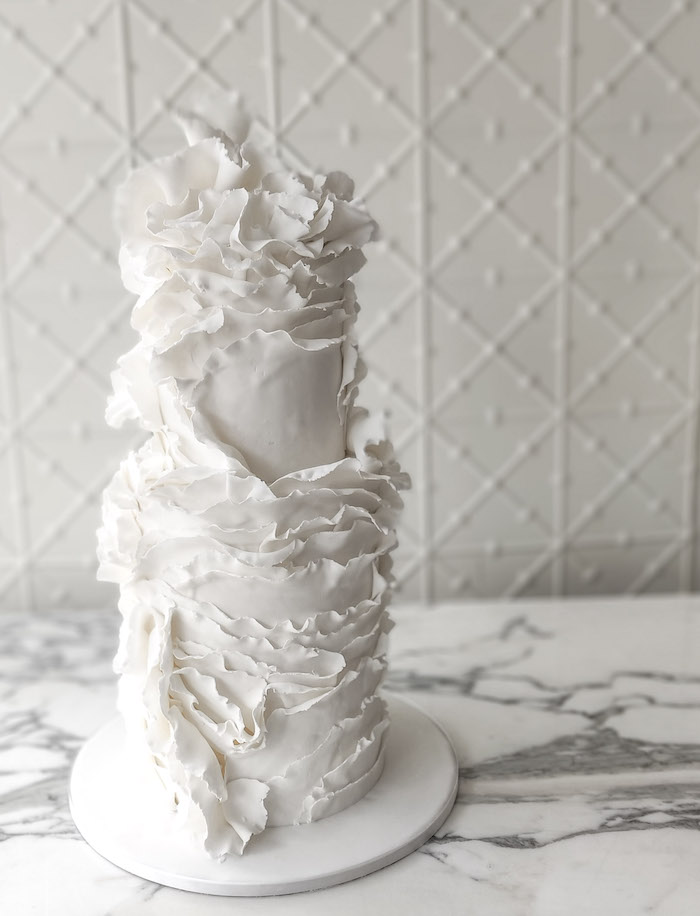 Wedding Cake from a 2019 Wedding Trends from Celebrity Experts on Kara's Party Ideas | KarasPartyIdeas.com (57)
