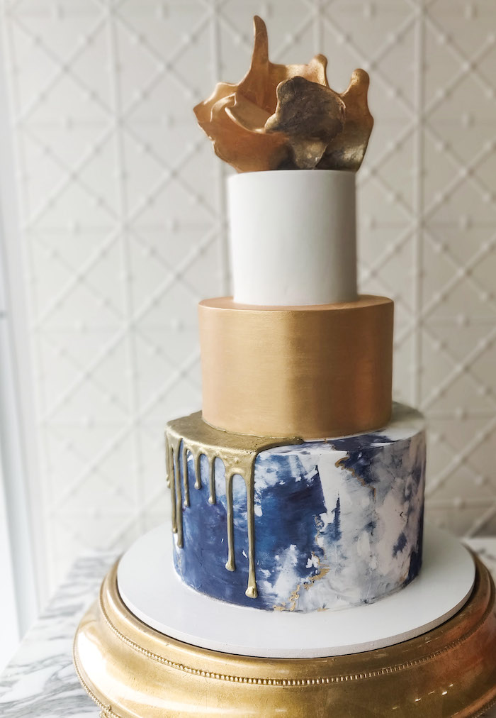 Wedding Cake from a 2019 Wedding Trends from Celebrity Experts on Kara's Party Ideas | KarasPartyIdeas.com (55)