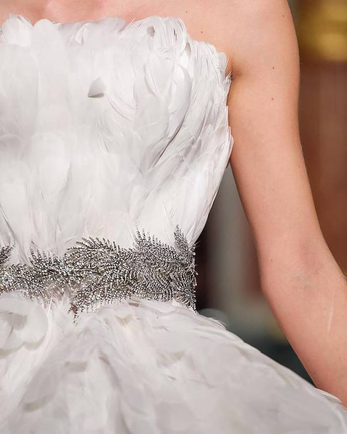 Bridal Gown from a 2019 Wedding Trends from Celebrity Experts on Kara's Party Ideas | KarasPartyIdeas.com (52)