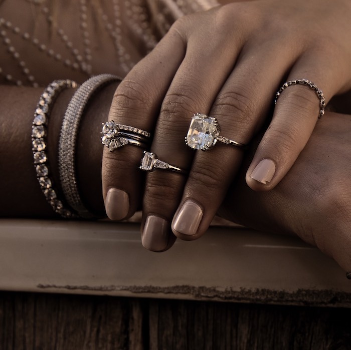 Engagement/Wedding Rings from a 2019 Wedding Trends from Celebrity Experts on Kara's Party Ideas | KarasPartyIdeas.com (25)