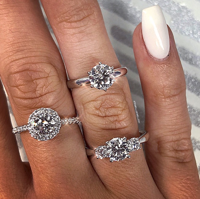 Engagement/Wedding Rings from a 2019 Wedding Trends from Celebrity Experts on Kara's Party Ideas | KarasPartyIdeas.com (21)