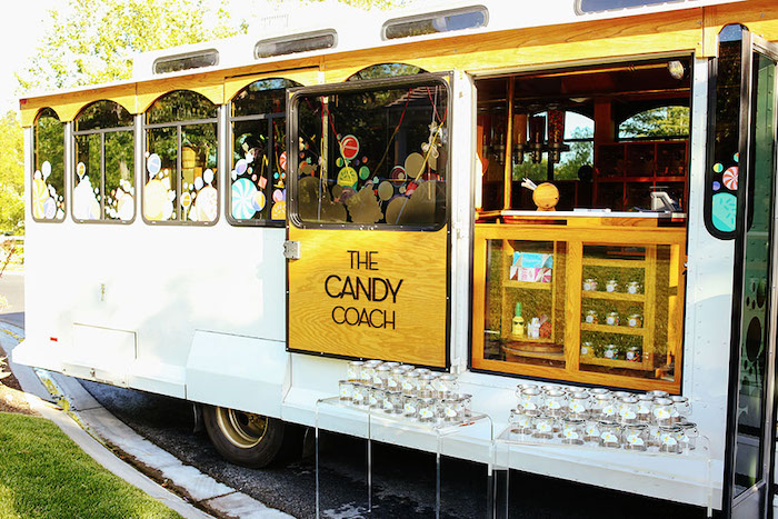 The Candy Coach from a 7th Heaven Birthday Party on Kara's Party Ideas | KarasPartyIdeas.com (11)