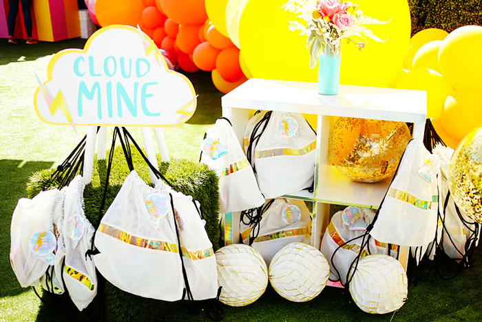 Cloud Mine Favors from a 7th Heaven Birthday Party on Kara's Party Ideas | KarasPartyIdeas.com (8)