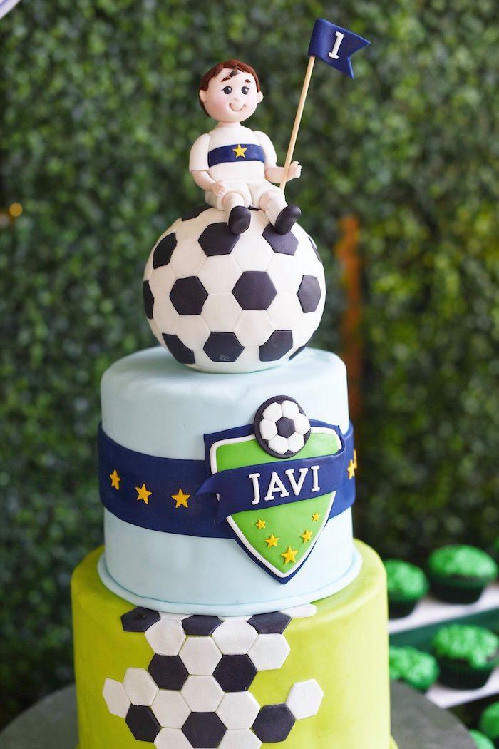Backyard Soccer Birthday Party on Kara's Party Ideas | KarasPartyIdeas.com (21)