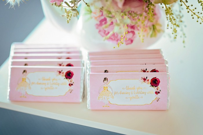 Ballet Themed Candy Bar Labels from a Ballerina Tea Party on Kara's Party Ideas | KarasPartyIdeas.com (29)