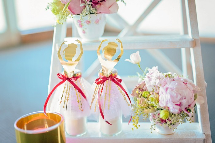 Ballerina Favors from a Ballerina Tea Party on Kara's Party Ideas | KarasPartyIdeas.com (28)