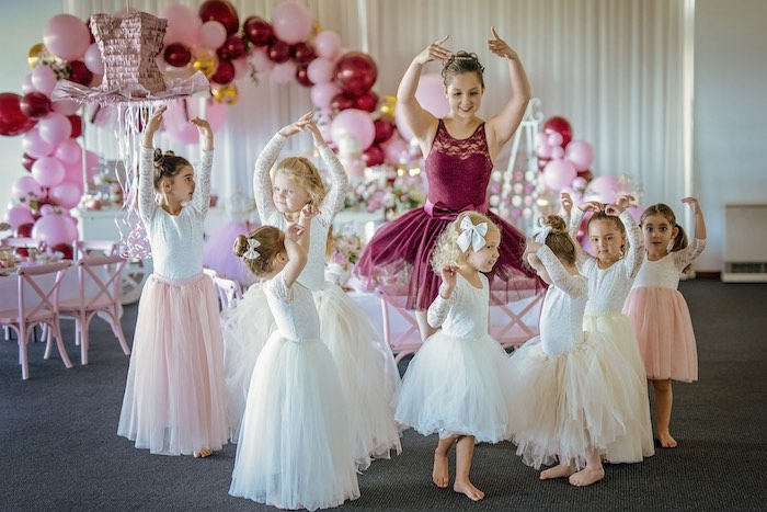 Little Ballerinas from a Ballerina Tea Party on Kara's Party Ideas | KarasPartyIdeas.com (14)