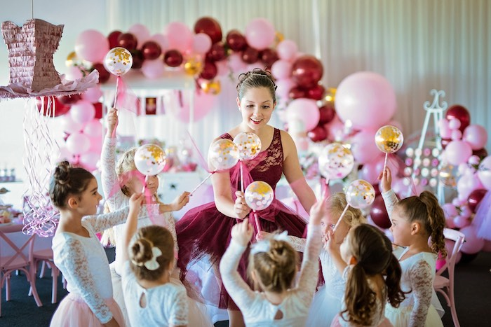 Ballerina Tea Party on Kara's Party Ideas | KarasPartyIdeas.com (13)