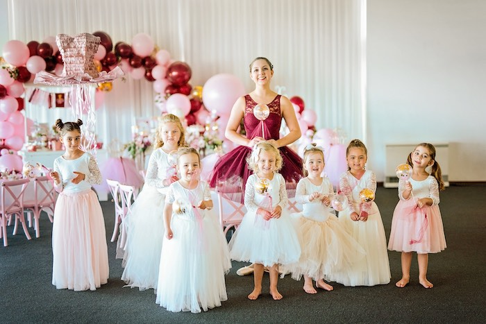 Little Ballerinas from a Ballerina Tea Party on Kara's Party Ideas | KarasPartyIdeas.com (12)