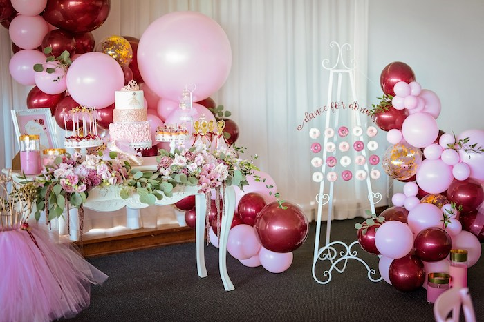 Ballerina Tea Party on Kara's Party Ideas | KarasPartyIdeas.com (11)