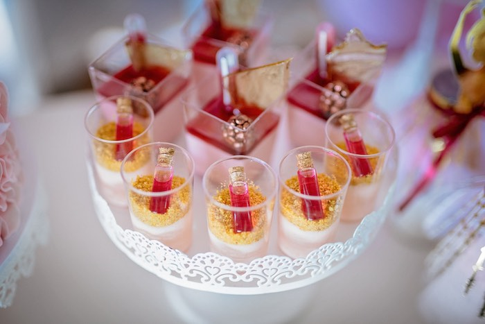 Dessert Cups from a Ballerina Tea Party on Kara's Party Ideas | KarasPartyIdeas.com (43)