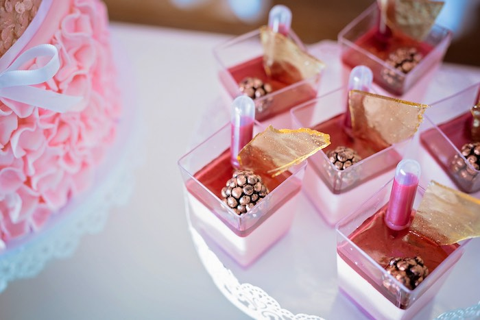 Dessert Cups from a Ballerina Tea Party on Kara's Party Ideas | KarasPartyIdeas.com (41)