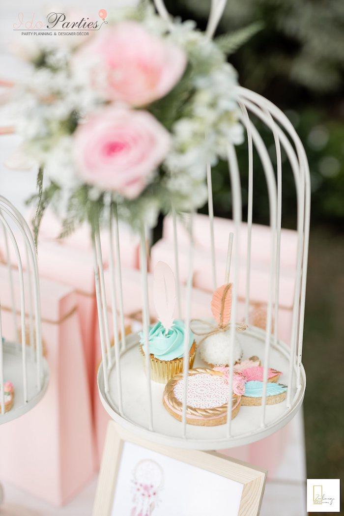 Boho Themed Desserts from a Boho Chic Birthday Party on Kara's Party Ideas | KarasPartyIdeas.com (20)