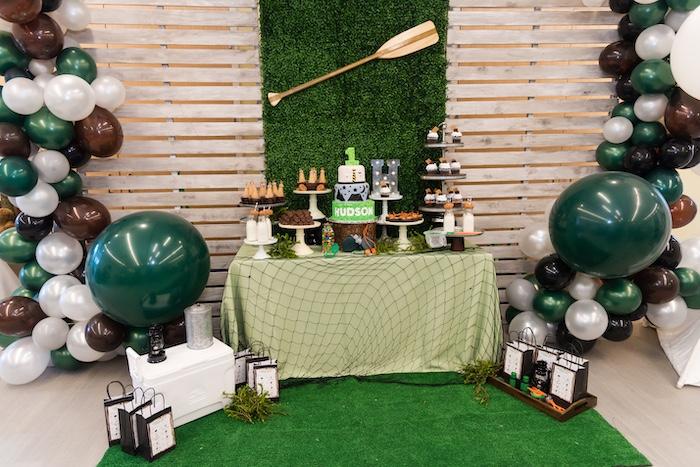 Camping Birthday Party on Kara's Party Ideas | KarasPartyIdeas.com (25)