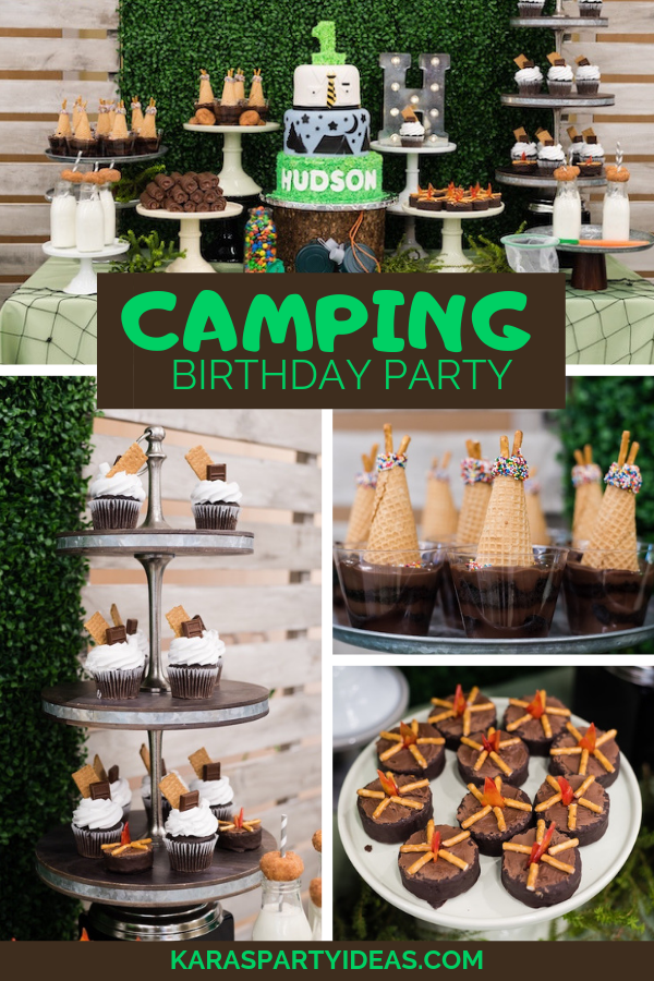 Cool Karas Party Ideas Camping Birthday Party Karas Party Ideas Birthday Cards Printable Opercafe Filternl