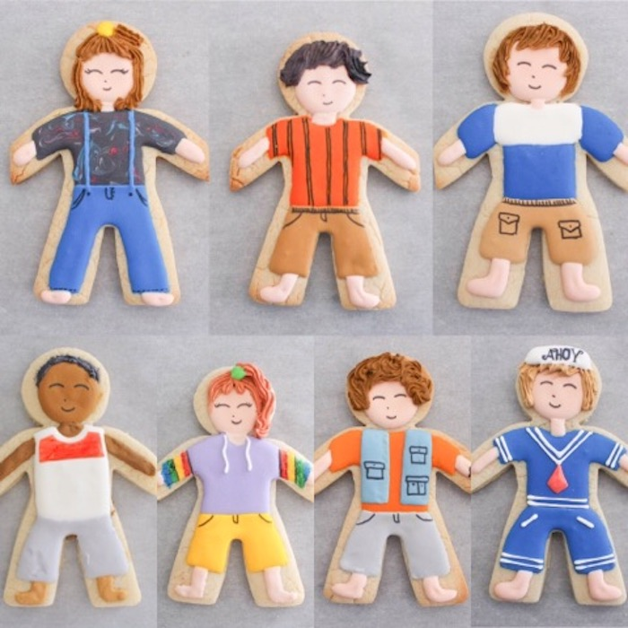 Finishing Details from a Stranger Things Sugar Cookies Tutorial on Kara's Party Ideas | KarasPartyIdeas.com