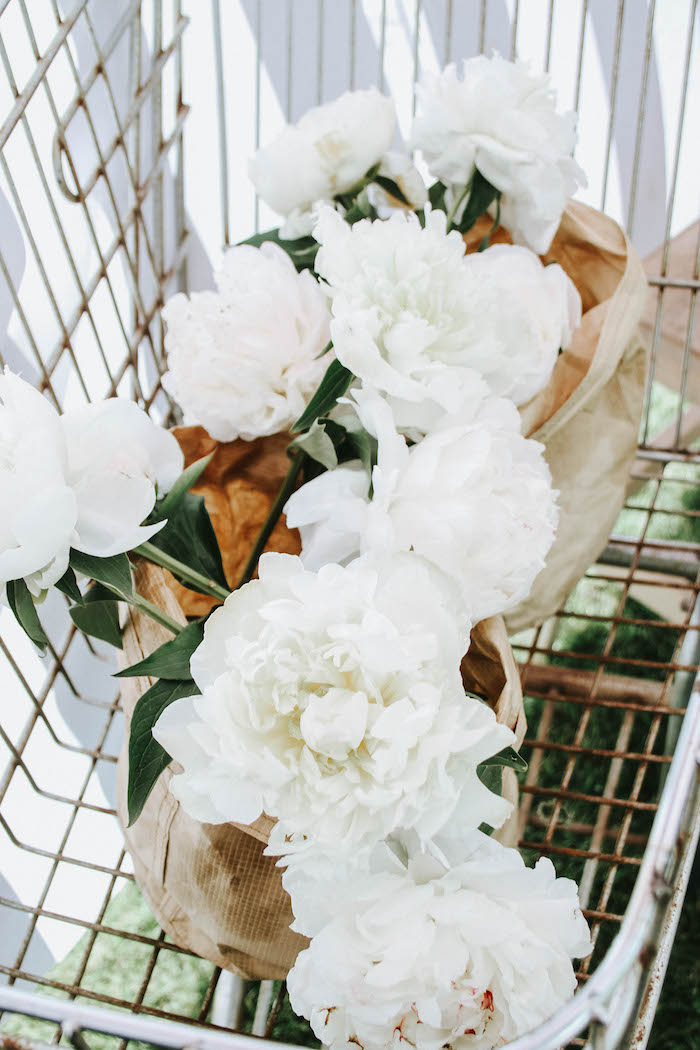 Flower Shop Blooms from a French Market Birthday Party on Kara's Party Ideas | KarasPartyIdeas.com (18)