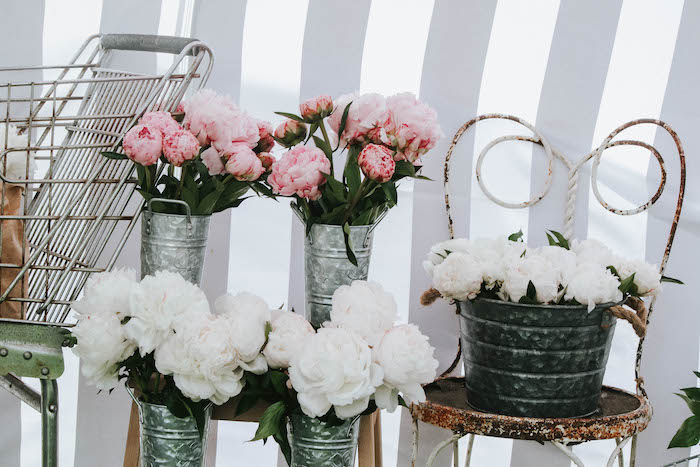 Blooms from a French Market Birthday Party on Kara's Party Ideas | KarasPartyIdeas.com (11)