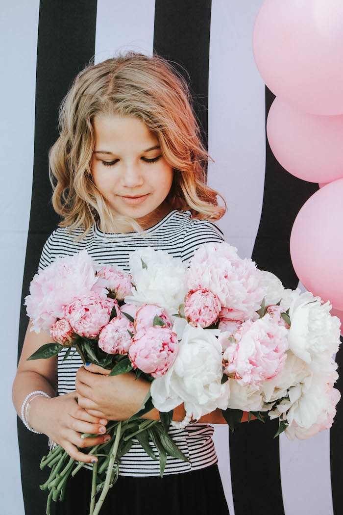 Blooms from a French Market Birthday Party on Kara's Party Ideas | KarasPartyIdeas.com (31)