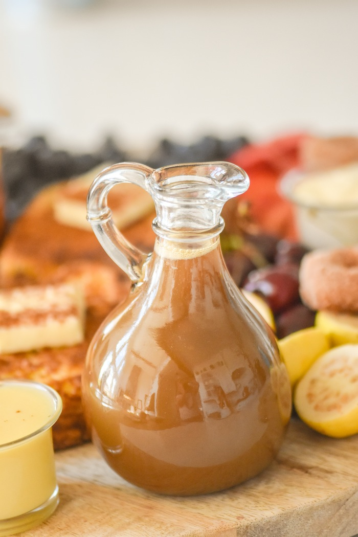 Homemade french toast syrup recipe | French Toast Charcuterie Board with International Delight #AD via Kara's Party Ideas | karaspartyideas.com