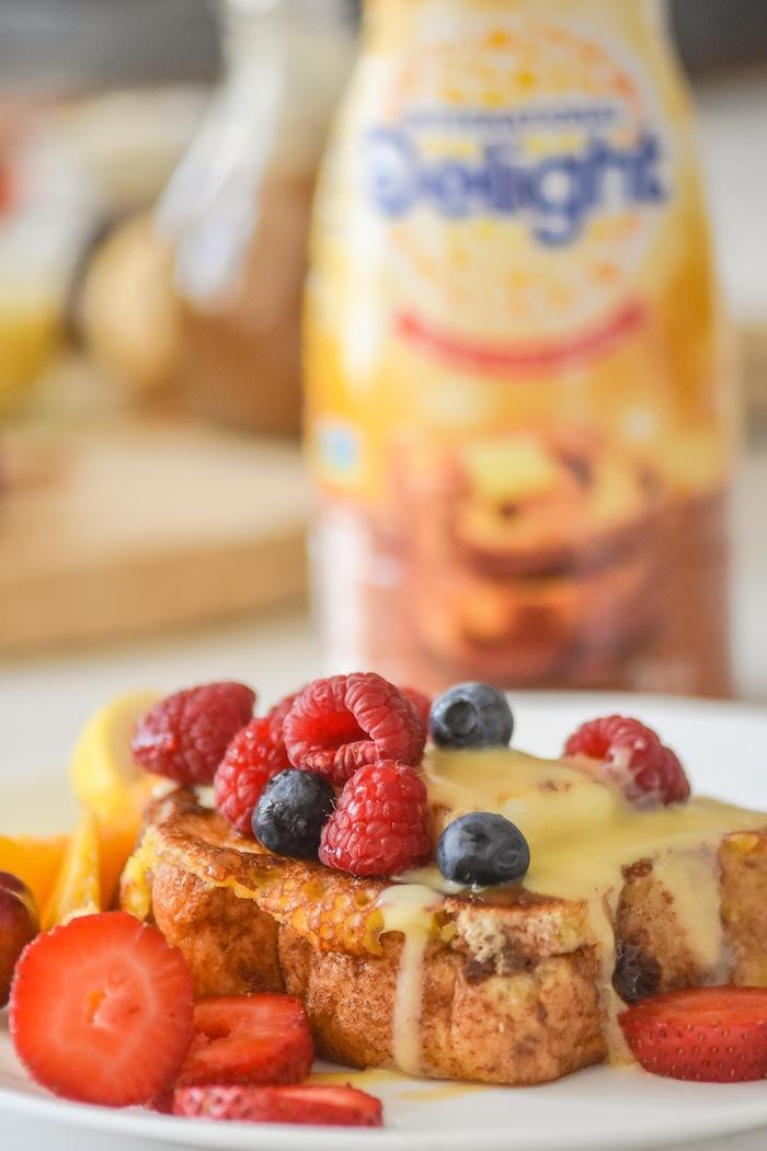 French toast recipe! | French Toast Charcuterie Board with International Delight #AD via Kara's Party Ideas | karaspartyideas.com