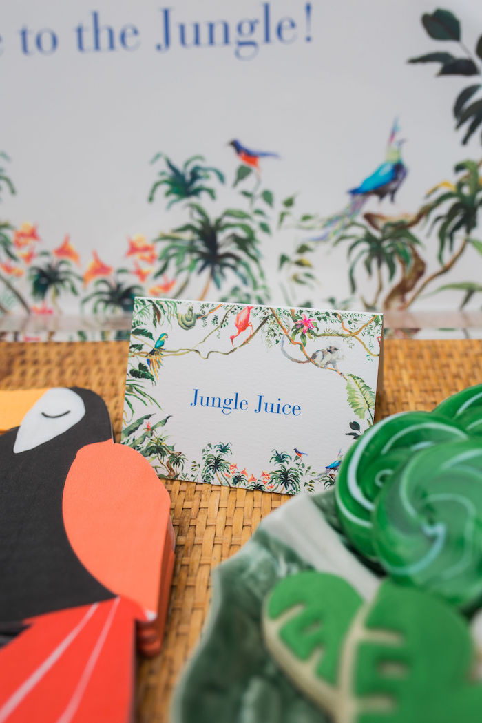 Jungle Juice Label from a Jungle Birthday Party on Kara's Party Ideas | KarasPartyIdeas.com (15)