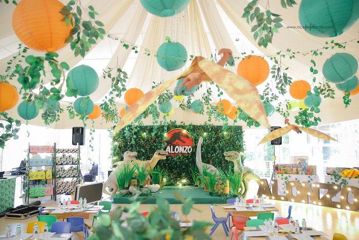 Jurassic Park Dinosaur Birthday Party on Kara's Party Ideas | KarasPartyIdeas.com (20)