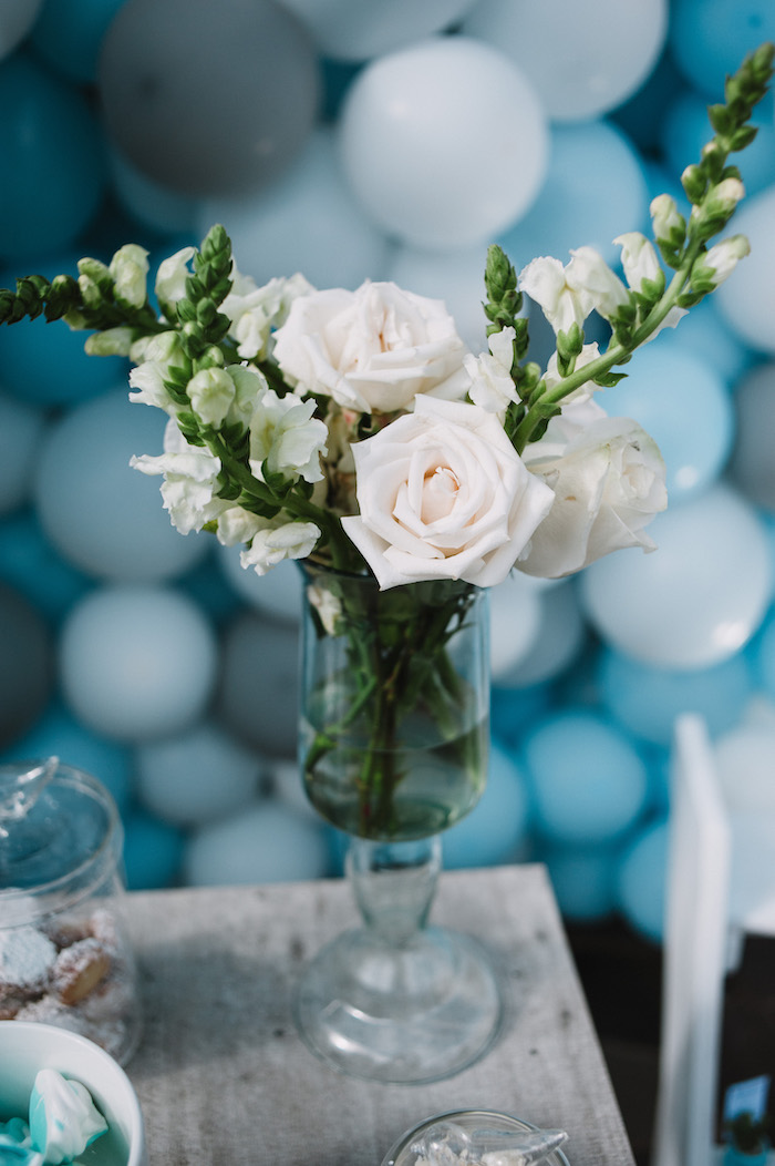 White Rose Blooms from a Little Bear Baby Shower on Kara's Party Ideas | KarasPartyIdeas.com (17)