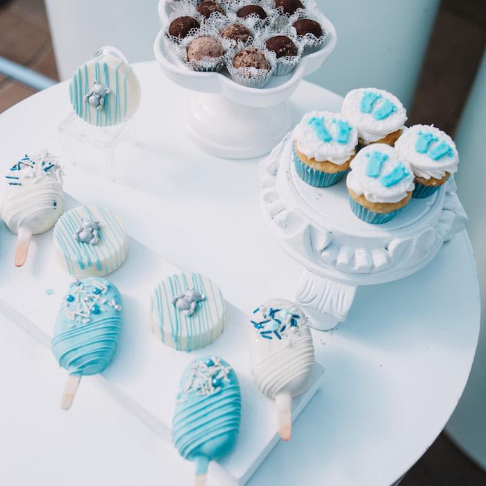 Sweet Table from a Little Bear Baby Shower on Kara's Party Ideas | KarasPartyIdeas.com (25)