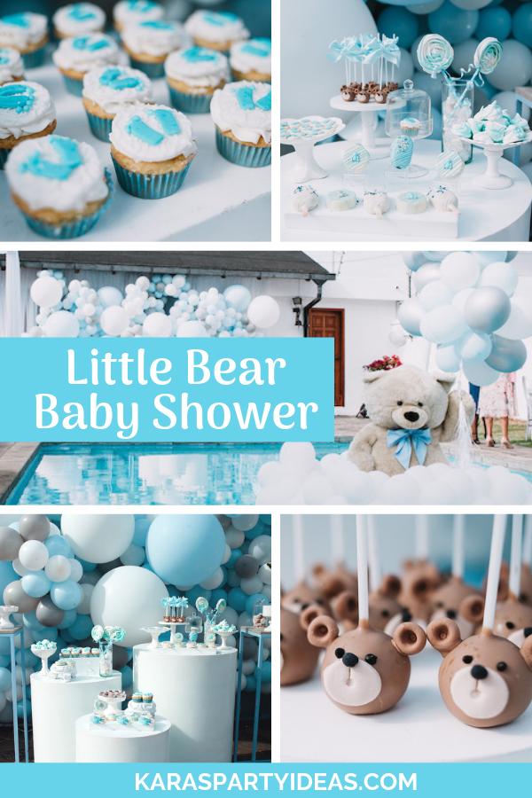 Little Bear Baby Shower via Kara's Party Ideas - KarasPartyIdeas.com