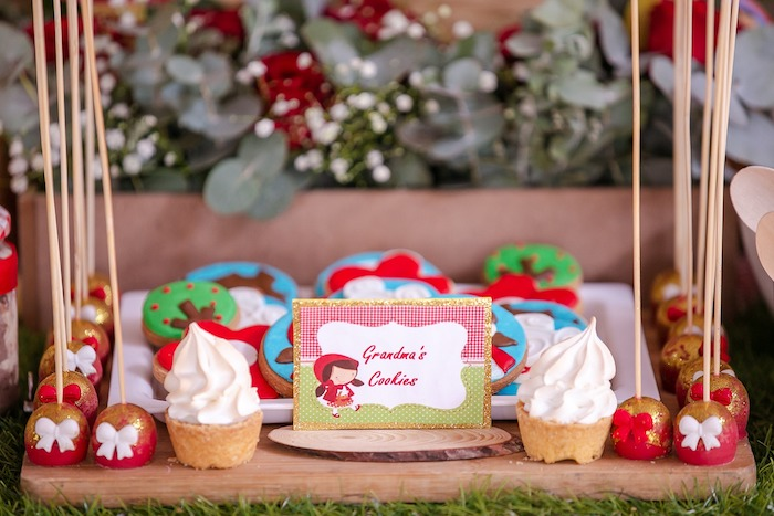 Grandma's Cookies & Sweets from a Little Red Riding Hood Birthday Party on Kara's Party Ideas | KarasPartyIdeas.com (13)