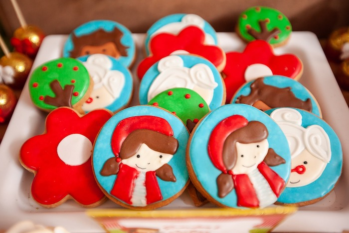 Little Red Riding Hood Sugar Cookies from a Little Red Riding Hood Birthday Party on Kara's Party Ideas | KarasPartyIdeas.com (20)