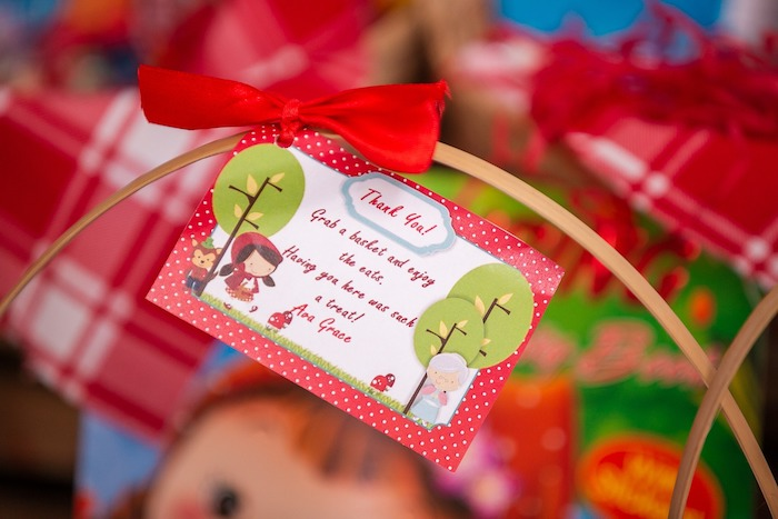 Little Red Riding Hood Favor Tag from a Little Red Riding Hood Birthday Party on Kara's Party Ideas | KarasPartyIdeas.com (17)