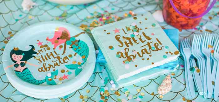 Mermaid Birthday Party on Kara's Party Ideas | KarasPartyIdeas.com (1)