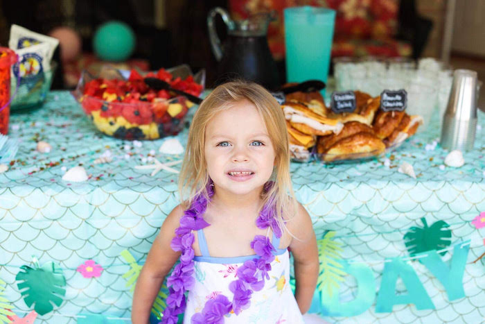 Mermaid Birthday Party on Kara's Party Ideas | KarasPartyIdeas.com (5)