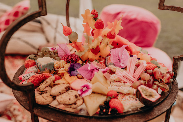 Grazing Platter from a Moroccan Genie Birthday Party on Kara's Party Ideas | KarasPartyIdeas.com (15)