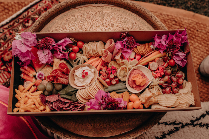 Charcuterie Plate from a Moroccan Genie Birthday Party on Kara's Party Ideas | KarasPartyIdeas.com (8)