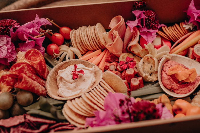 Charcuterie Plate from a Moroccan Genie Birthday Party on Kara's Party Ideas | KarasPartyIdeas.com (7)