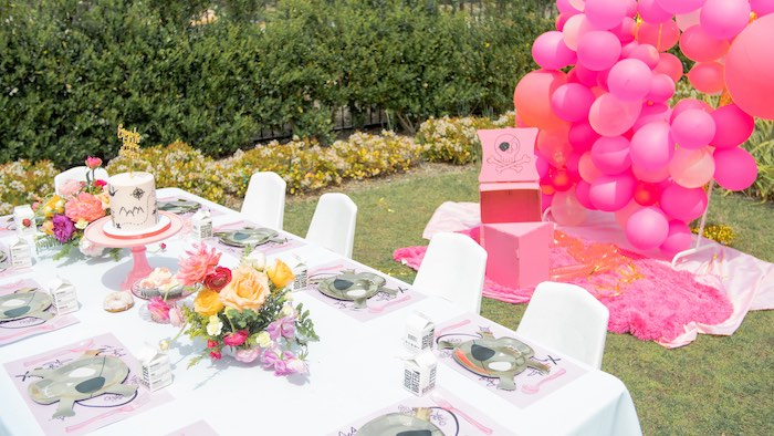Pink Pirate Birthday Party on Kara's Party Ideas | KarasPartyIdeas.com (6)
