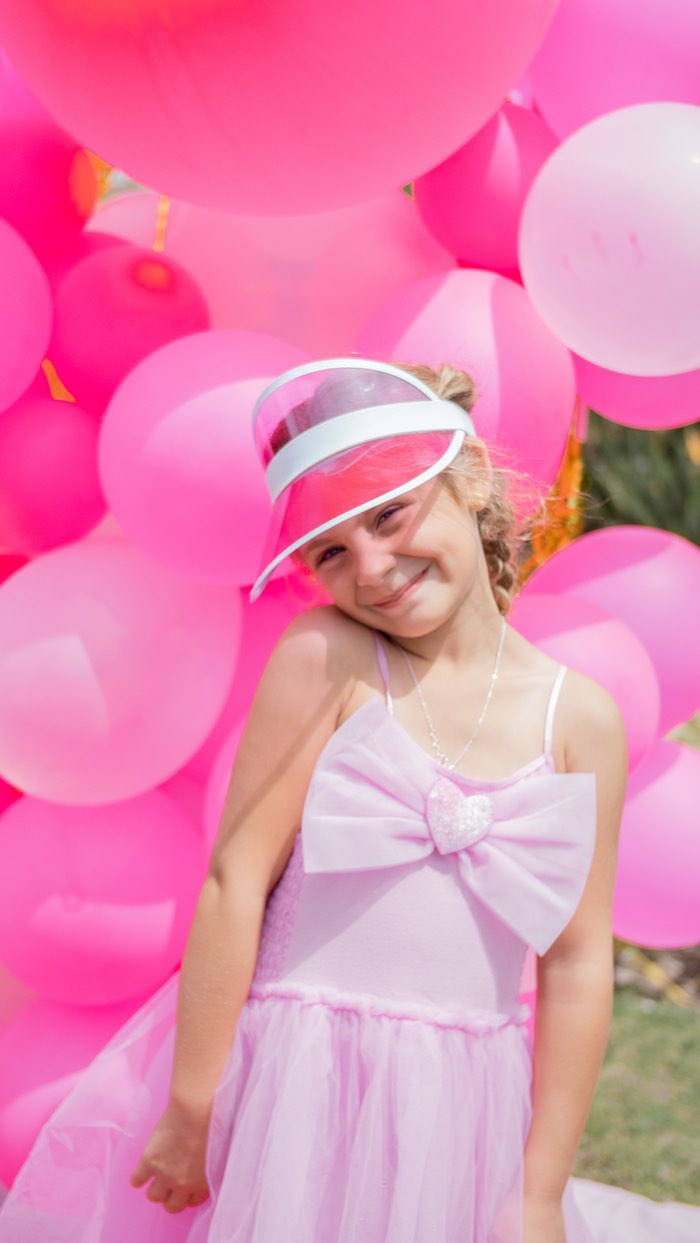 Pink Pirate Birthday Party on Kara's Party Ideas | KarasPartyIdeas.com (4)