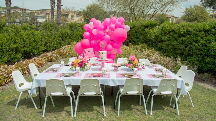 Pink Pirate Birthday Party on Kara's Party Ideas | KarasPartyIdeas.com (13)