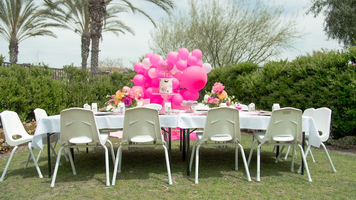Pink Pirate Birthday Party on Kara's Party Ideas | KarasPartyIdeas.com (12)