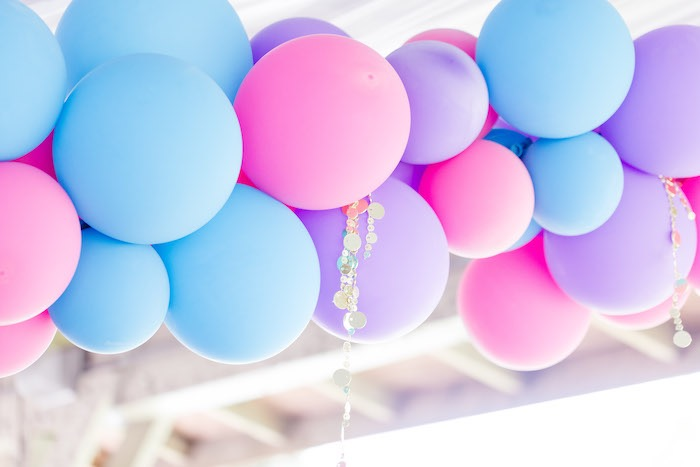Arabian-inspired Balloon Garland from a Shimmer & Shine Inspired Arabian Birthday Party on Kara's Party Ideas | KarasPartyIdeas.com (30)