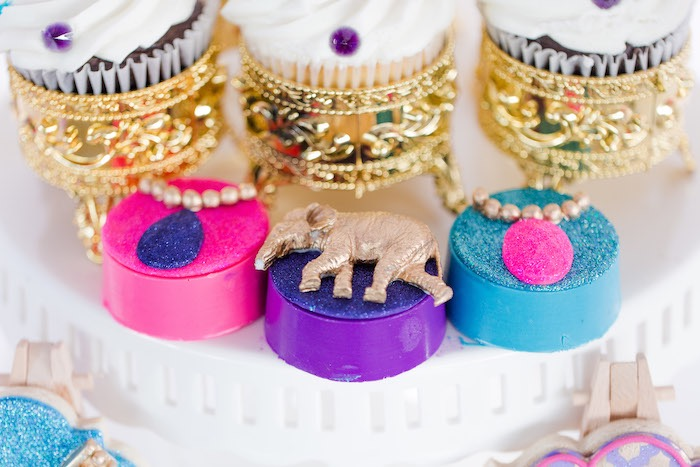 Arabian Themed Chocolate Covered Oreos from a Shimmer & Shine Inspired Arabian Birthday Party on Kara's Party Ideas | KarasPartyIdeas.com (13)