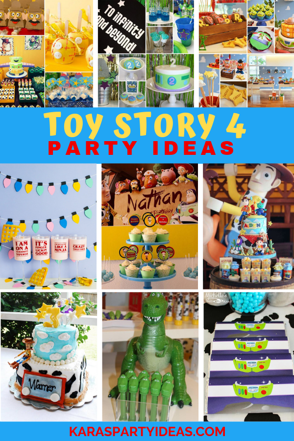 Toy Story 4 Party Ideas via Kara's Party Ideas - KarasPartyIdeas.com