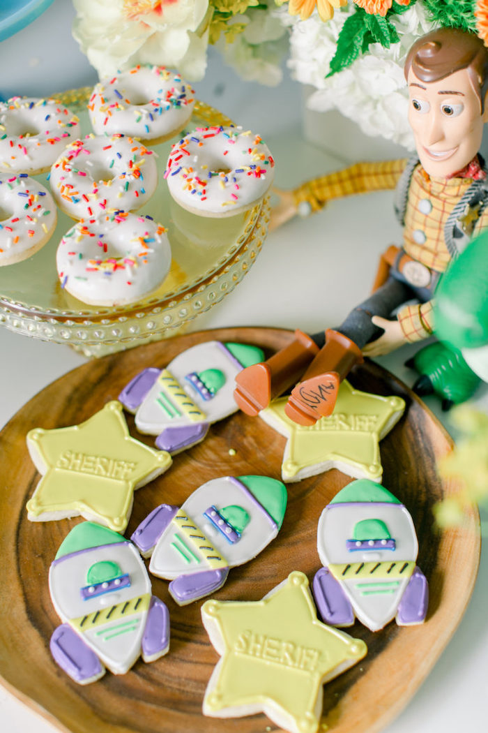 Toy Story Cookies from a Toy Story Party on Kara's Party Ideas | KarasPartyIdeas.com (13)